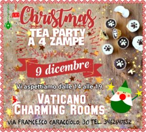 Christmas Tea Party A 4 zampe